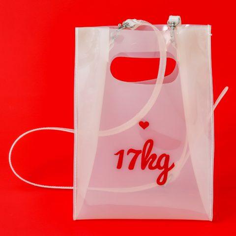 【新刊情報】17kg(イチナナキログラム) CLEAR BAG BOOK発売