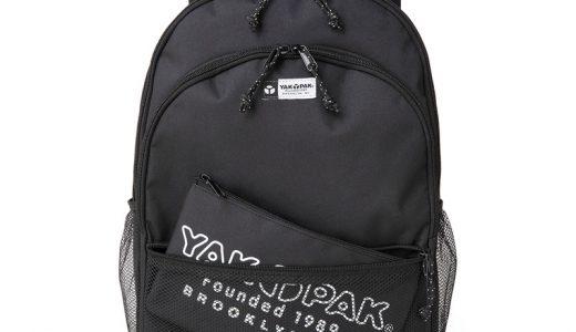 【新刊情報】YAK PAK BACKPACK BOOK BLACK POUCH ver.(ヤックパックバックパックブックブラックポーチバージョン)発売