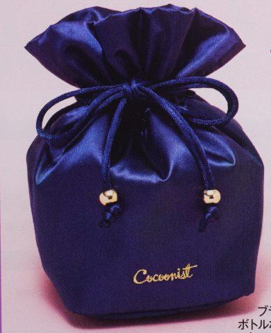 【次号予告】美人百花 2019年7月号《特別付録》Cocoonist(コクーニスト)のマルチ巾着ポーチ