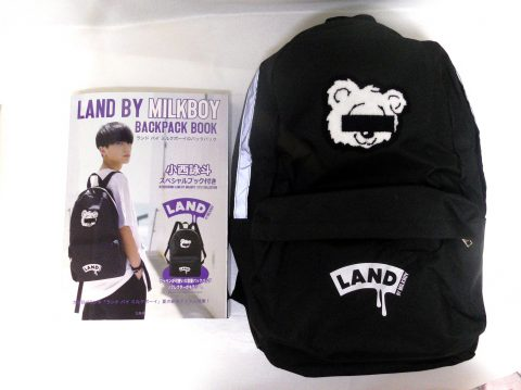 LAND BY MILKBOY BACKPACK BOOK(ランドバイミルクボーイ バックパックブック)【購入開封レビュー】