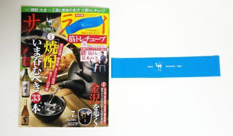 サライ 2019年7月号《特別付録》筋トレチューブ【購入開封レビュー】