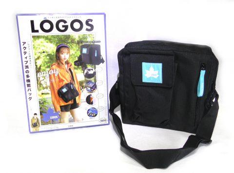 LOGOS(ロゴス)SHOULDER BAG BOOK(ショルダーバッグ ブック)【購入開封レビュー】