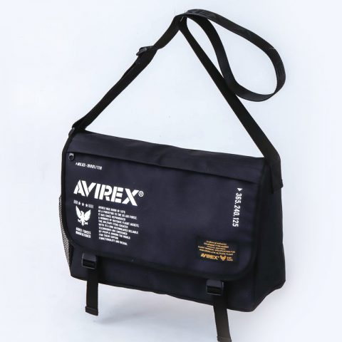 【新刊情報】AVIREX (アヴィレックス)Big Messenger Bag Book発売