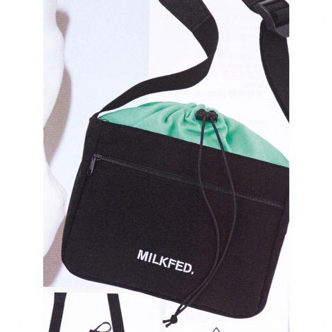 【次号予告】mini(ミニ)2020年3月号《特別付録》MILKFED.(ミルクフェド)外ポケット付きショルダーバッグ
