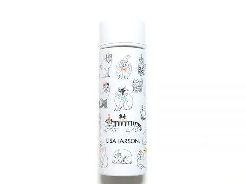 【発売前レビュー】リンネル 2020年2月号増刊《特別付録》LISA LARSON(リサ・ラーソン)コンパクトサイズのかわいいステンレスボトル