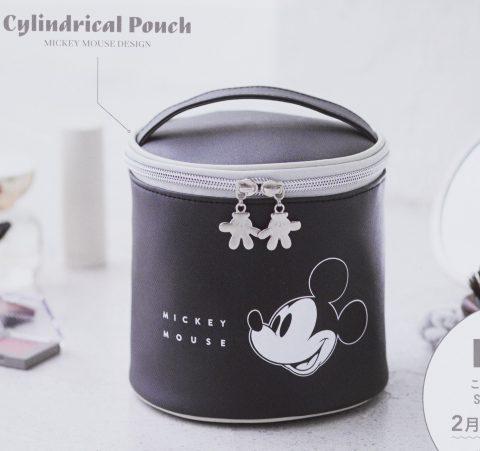 【次号予告】SPRiNG(スプリング)2020年4月号《特別付録》ミッキーマウス 可愛く収納できる筒型ポーチ