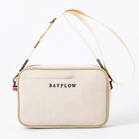 【新刊情報】BAYFLOW(ベイフロー)LOGO SHOULDER BAG BOOK IVORY