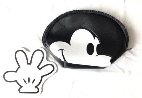 【フラゲレビュー】InRed(インレッド) 2020年4月号増刊≪特別付録≫ミッキーマウス フェイスポーチと手の形のポーチ2個セット
