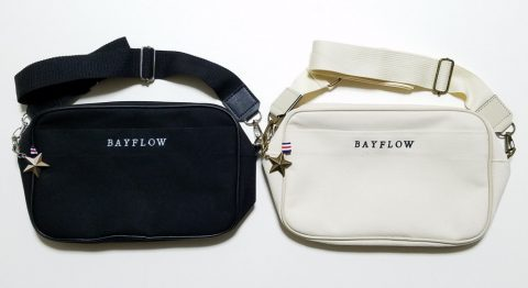 【開封レビュー】BAYFLOW LOGO SHOULDER BAG BOOK BLACK・ IVORY