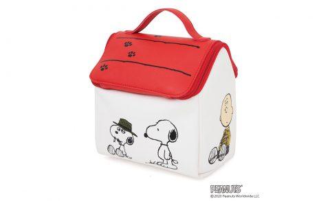 【新刊情報】SNOOPY  スヌーピーハウスのマルチに使える収納ポーチ BOOK