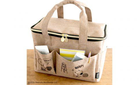 【新刊情報】SNOOPY(スヌーピー) マルチに使えるBIGピクニックバッグ BOOK