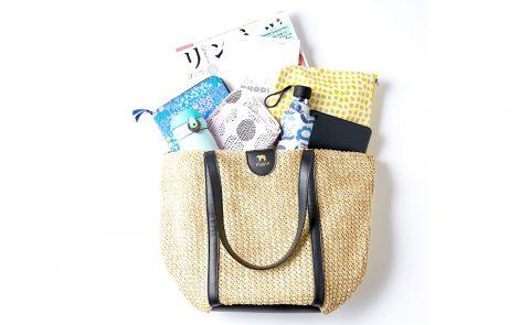 【新刊情報】kippis(キッピス) zip-up basket bag BOOK