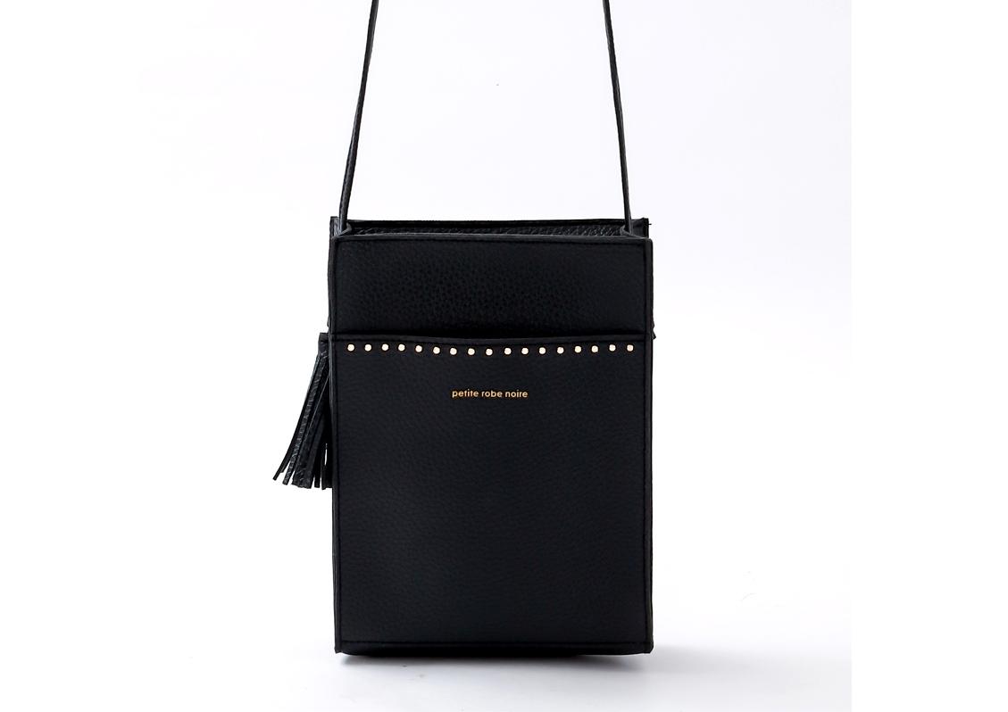 Ɩ°åˆŠæƒ…å± Petite Robe Noire ×ティローブノア Studs Shoulder Bag Book Ä»˜éŒ²ãƒ©ã'¤ãƒ•