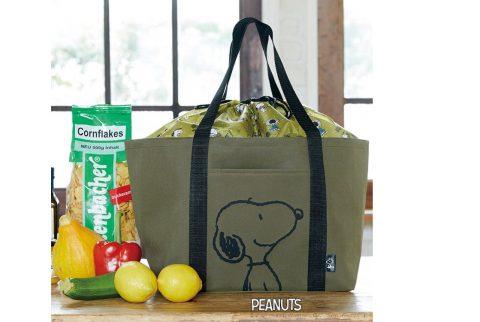 【新刊情報】SNOOPY (スヌーピー)レジカゴサイズのBIGショッピングバッグ BOOK Olive
