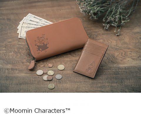 【新刊情報】MOOMIN (ムーミン)たっぷり入る本革長財布 BOOK 極薄ミニ財布つき