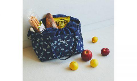 【新刊情報】KID BLUE(キッドブルー) 保冷ができるレジカゴサイズのショッピングバッグBOOK