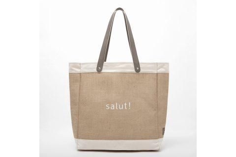 【新刊情報】salut! (サリュー)ジュートバッグBOOK
