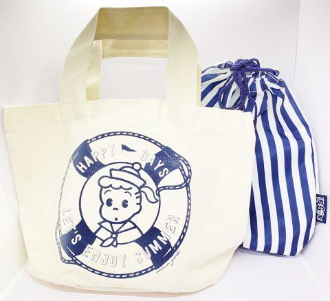 【フラゲレビュー】大人のおしゃれ手帖 2021年9月号増刊号《特別付録》OSAMU GOODS(R)(オサムグッズ(R))巾着+バッグの2個セット!3Wayで使えるマリンキャンバストートバッグ