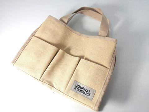 【フラゲレビュー】InRed(インレッド)2021年9月号《特別付録》ジャーナルスタンダード ティッシュが取り出せる 10ポケットバッグ