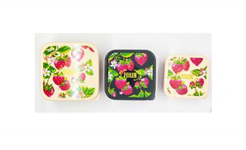 【フラゲレビュー】InRed(インレッド)2021年12月号宝島チャンネル限定号《特別付録》フェイラー ストロベリーフィールド 食品も雑貨も入れられる イチゴ柄コンテナ3個セット